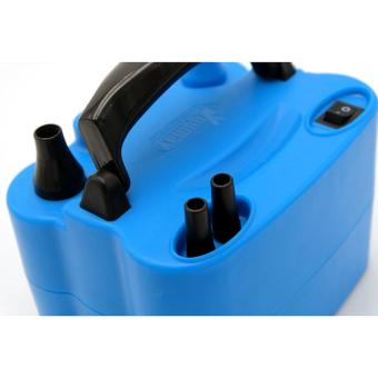 Electric Dual Balloon Pump 2 Nozzle Inflator - 2