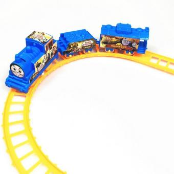 Electric Train Track Set Kids Children's Toy Train Model with RailWay - intl