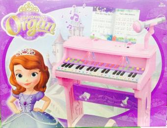 Electronic Organ Piano with Microphone Toy Set (sofia)
