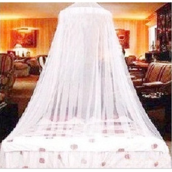 Elegant Princess Mosquito Netting Curtains Insect Fly Screen RoundLace Curtain Dome Bed Canopy Netting hanging adit mosquito net -intl Price Philippines