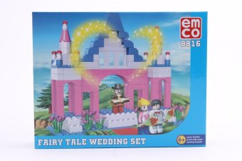 EMCO Fairy Tale Wedding Set (Pink)