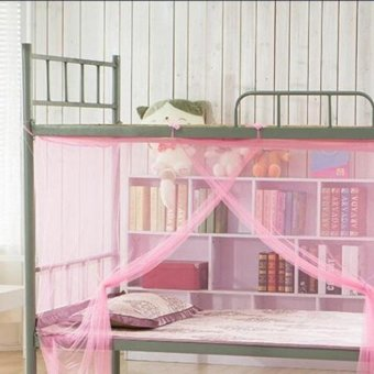 Encryption Nets 1.2 m Bed Student Dormitory Mosquito Nets PartyPink - intl Price Philippines