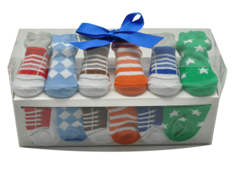 Enfant Baby Boy Socks (6 Pairs) - picture 2