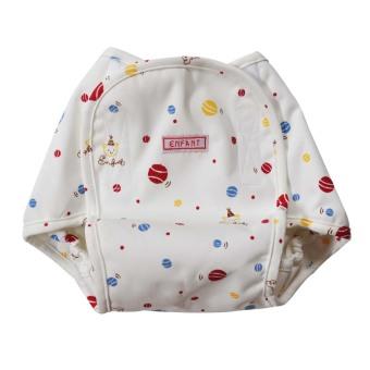 Enfant Baby Diaper Cover (White)