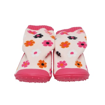 Enfant Baby Socks with Sole (Flowers)