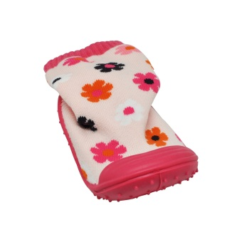Enfant Baby Socks with Sole (Flowers) - picture 2