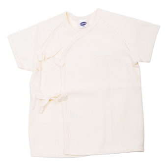 Enfant Shirt Tie Seide Short Sleeves (Cream) Price Philippines