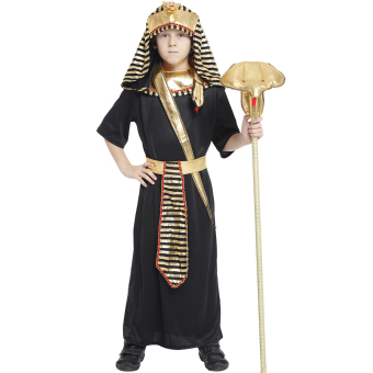 EOZY Boys Halloween Costumes Ancient Egypt Egyptian Pharaoh Cosplay Kids Photography Stage Performance Clothing -XL