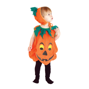 EOZY Children's Halloween Cosplay Costume Clothes Cute Pumpkin Clothes For Boys And Girls -S (Orange) - Intl Price Philippines