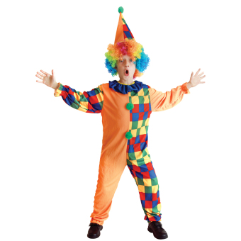 EOZY Halloween Costumes Kids Funny Circus Clown Costume UniformFancy Cosplay Clothing For Boys Girls -L