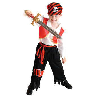 EOZY Kids Boys Pirate Costumes/Cosplay Costumes For Boys/Halloween Cosplay Costumes -M Price Philippines
