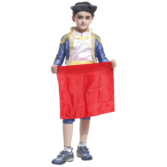 EOZY Kids Spanish Bullfighter Festival Dancing Costumes HalloweenMasquerade Performance clothing Matador Costumes Prince Clothing-XL Price Philippines