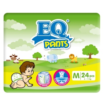 EQ Pants Diaper Big Pack M 24's Price Philippines