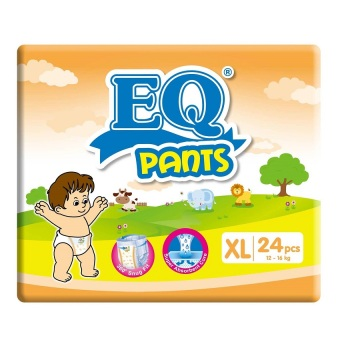 EQ Pants Diaper Big Pack XL 24's Price Philippines
