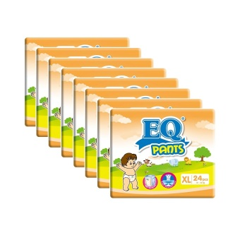 EQ Pants Diaper Big Pack XL 24'sPack of 8 Price Philippines