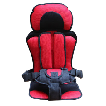 ERA Trendy New Soft Safety Kids Car Seat For Child Baby PortableCarrier Seat Red - Intl Price Philippines