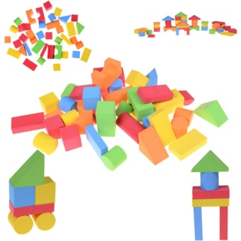 EVA Safe Children Building Brick Block Foam Construction Soft Toy -intl