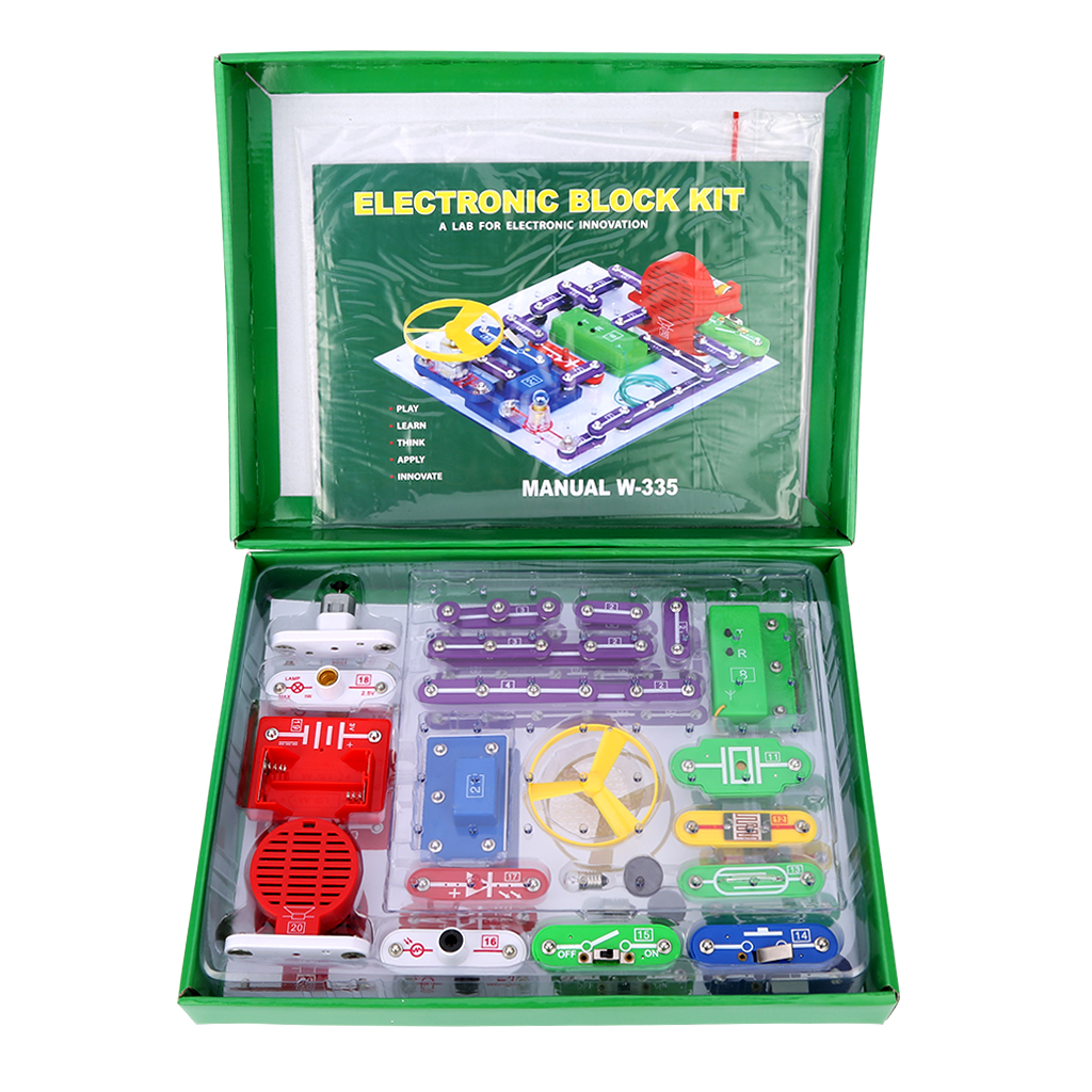 Philippines Excelvan W 335 Snap Circuits Electronics Discovery Kit Science Educational Toy
