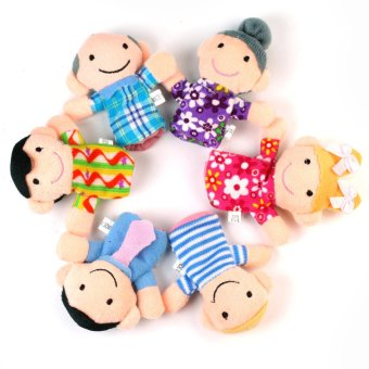 Family Finger Plush Puppets