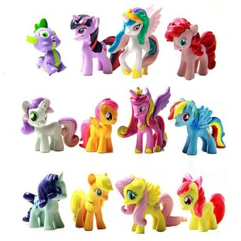 Fancyqube My Little Pony Doll Toy Color Figure Price Philippines