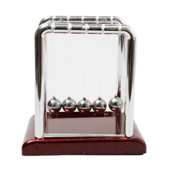 Fancyqube Newton's Cradle Steel Balance Balls Desk Physics Science Pendulum Desk Toy - intl