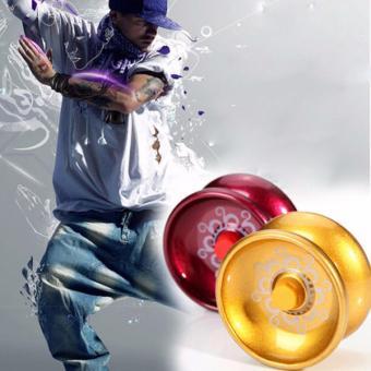 Fancyqube YoYo Ball Bearing String Trick Alloy Kids Toy - intl - 2