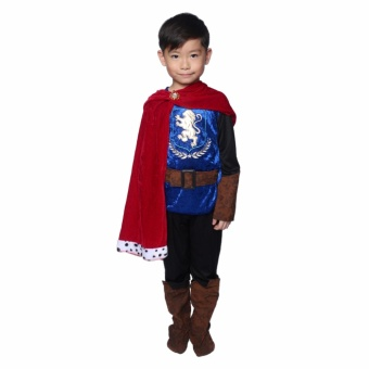 Fantasy Prince Costume for Kids 5 to 6 Years Old
