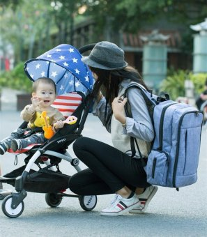 Fashion Baby Diaper Bags For Mom Backpack Maternity Bags For Mother Bag Baby Stroller Organizer Diaper Backpack Large Nappy Bag - intl