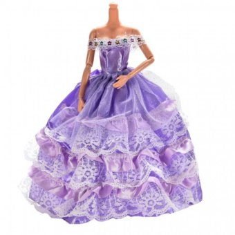 Fashion Handmade Dresses for Barbies
