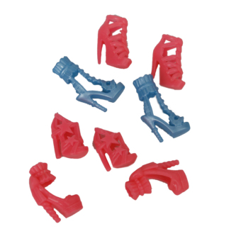 Fashionable 7 Pairs Of Doll High Heels Shoes For Dolls - picture 2