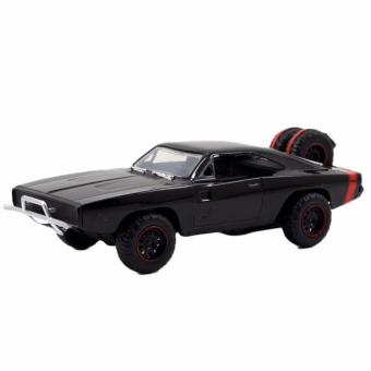 Fast & Furious 7 Dom's 70 Dodge Charger R/T Diecast Toy CarLoose (Black)