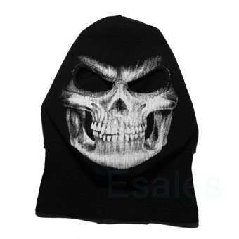 FD Cosplay Skull Balaclava Ghost Mask Hood Face Biker CS Halloween - 4