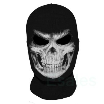 FD Cosplay Skull Balaclava Ghost Mask Hood Face Biker CS Halloween