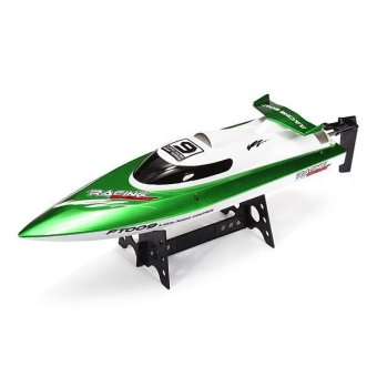 Feilun FT009 2.4G 4CH Water Cooling High Speed Racing RC Boat Green - intl