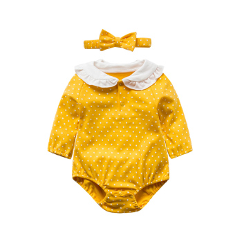 Female baby one-piece newborns clothes