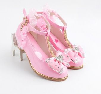 Female New style Spring and Autumn girls Korean-style princess shoes children's shoes