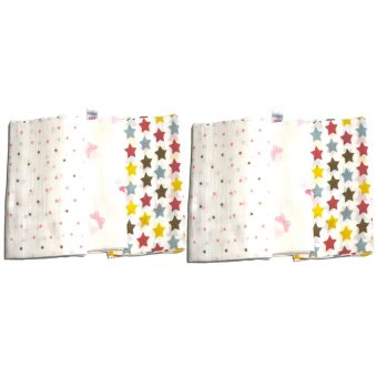 Feo en Rafa Muslin Swaddle (Stars/Butterfly) Bundle of 6