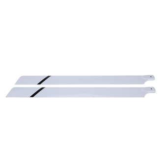 Fiber Glass 700mm Main Blades for Align Tre x 700 RC Helicopter - picture 2