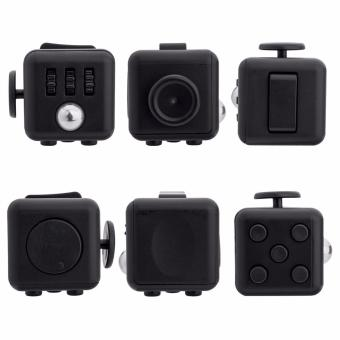 Fidget Cube for Stress and Anxiety (Black) - 2