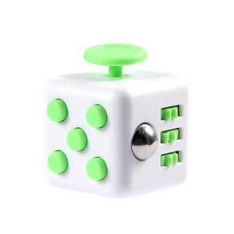 Fidget Cube Magic Cube Toys #7 (White&Green) Price Philippines