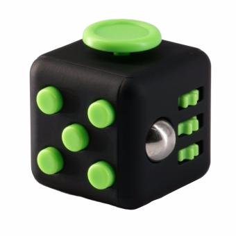 Fidget Cube Stress Reliever for Kids and Adult (black/green) Price Philippines