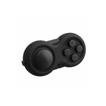 Fidget Pad Hand Shank Cube Spinner (black) Price Philippines