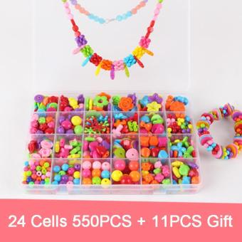 FIREWORK Educational Toys Jewelry Necklace Bracelet Building KitDIY Beads Girls Price Philippines