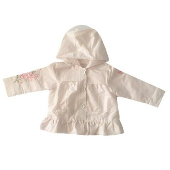 First Impressions Waterproof Hoodie Jacket for Baby Girl