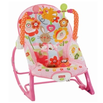 Fisher-Price Infant To Toddler Bunny Baby Rocker (Pink)