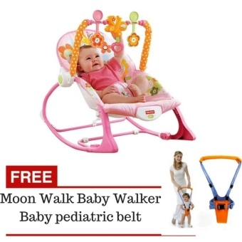Fisher-Price Infant To Toddler Rocker Free Moon Walk Baby WalkerBaby pediatric belt