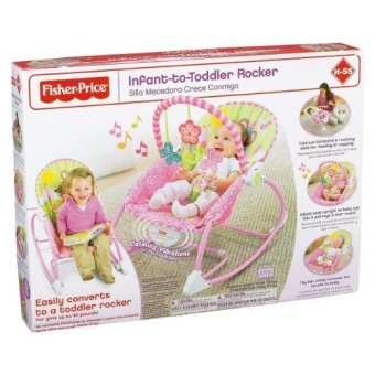 Fisher-Price Mouse Rocker (Pink)