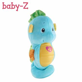 Fisher Price Seahorse Toys Infant Sound and Light Music Baby (Blue)