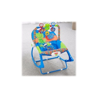 Fisher-Price Toddler Rocker Frog and Snail (Blue)
