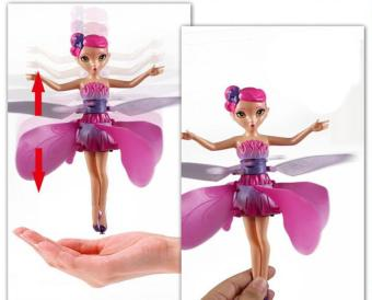 Flying Fairy Doll Hand Infrared Induction Control Dolls Child FlyToy Gift Induction fairies flying fairy toys for girls Gift - intl - 2